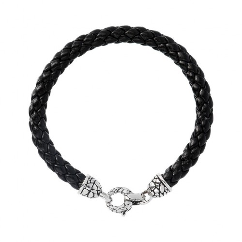 Men bracelet, snake, silver 925 Αlbert Μ. br2325 BRACELETS Κοσμηματα - chrilia.gr