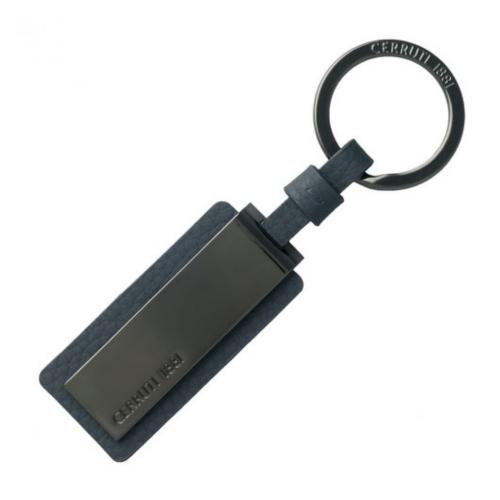 Cerruti 1881 key ring, Hamilton Dark Blue NAK711N, kl0088