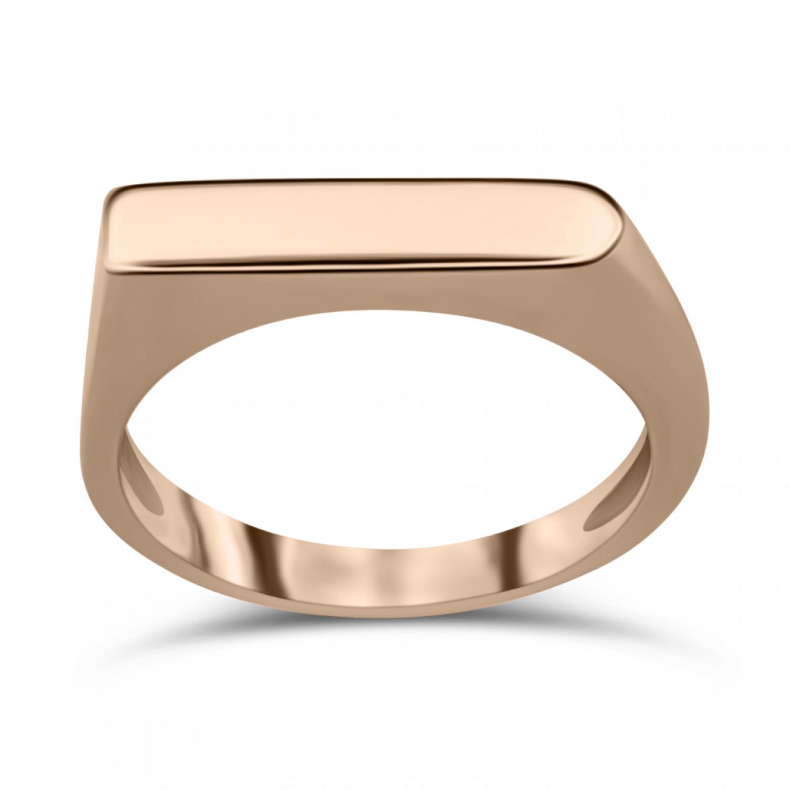 Ring K9 pink gold, da3473 RINGS Κοσμηματα - chrilia.gr
