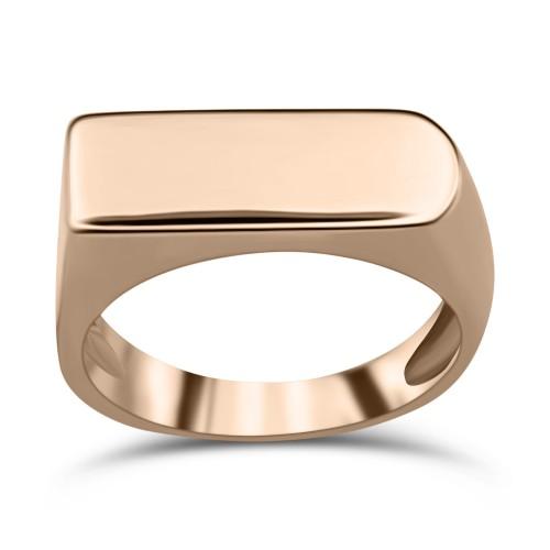 Ring K9 pink gold, da3474 RINGS Κοσμηματα - chrilia.gr